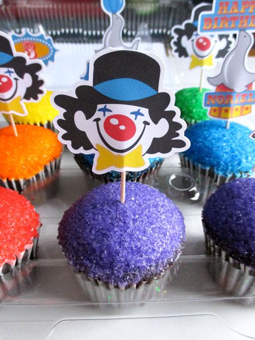Clown-Cupcakes