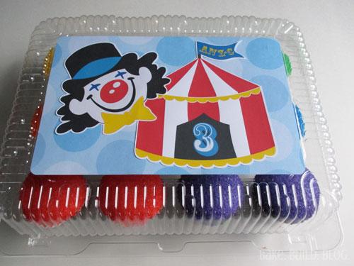 Cupcake Box Design